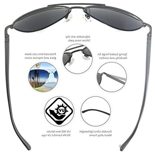 J+S Ultra Military Sunglasses, Polarized, protection