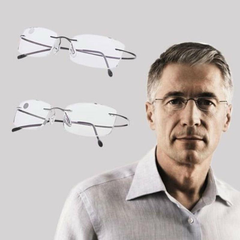 Ultralight Rimless Reading Glasses New