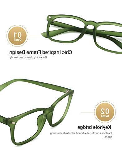 TIJN Unisex Glasses