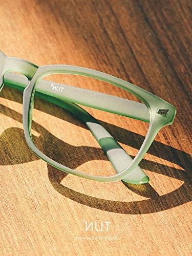 TIJN Glasses Clear Lens Eyewear Grace Green