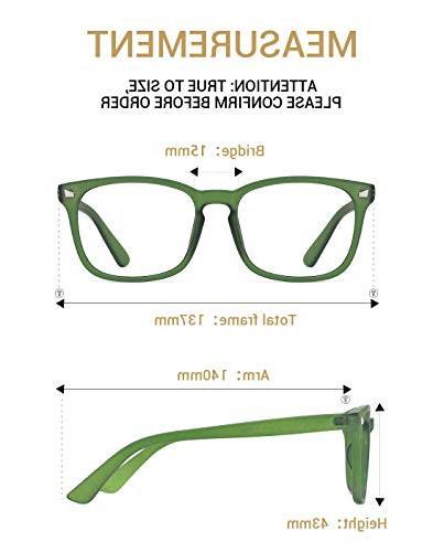 TIJN Unisex Glasses Eyewear Grace