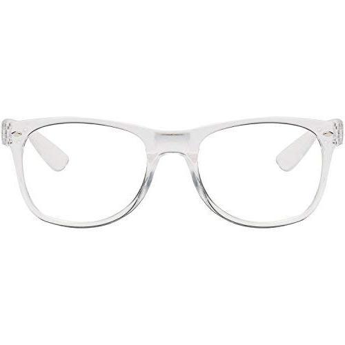 Amomoma Wayfarer Glasses Eyeglasses Frame/Gold Temple