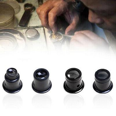 Useful New Eye Glasses Loupe Lens Set Tool For Watchmaker Watch Repair