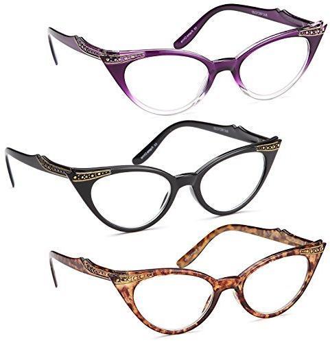 vintage cat eye readers