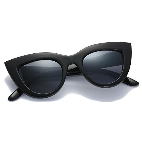 vintage cateye sunglasses for women with mirrored