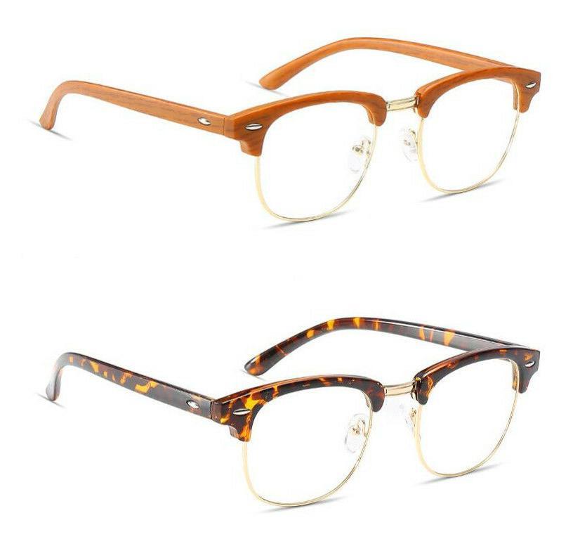 Vintage Eyeglass Frames Men's Rx able Glasses eyewear