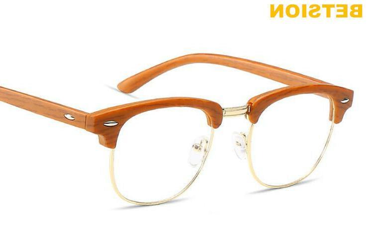 vintage half rimless eyeglass frames men s