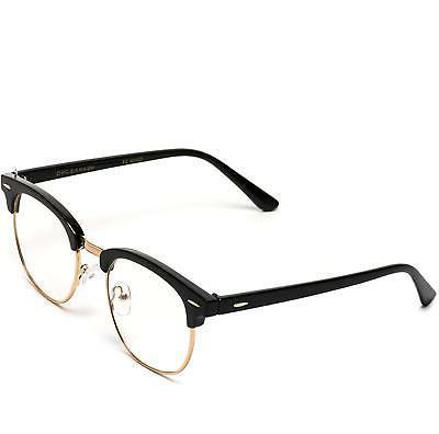Vintage Frame Rimmed Clear Lens Glasses