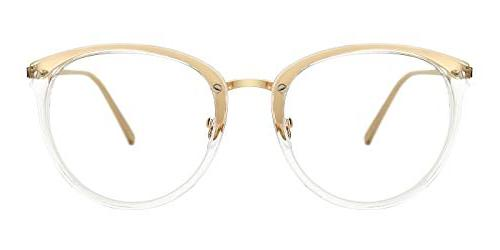 TIJN Vintage Optical Non-prescription Eyeglasses Frame
