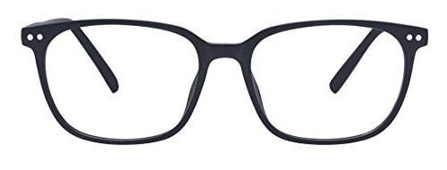 Outray Vintage Rectangle Designer Glasses TR90 Frame With Clear Lens Glasses 2196c1 Black