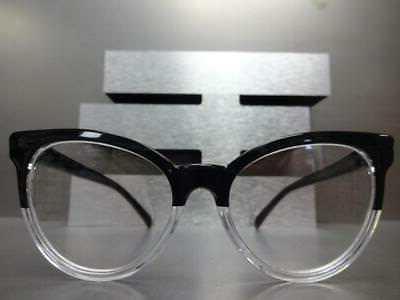 Style READERS Black Transparent Frame