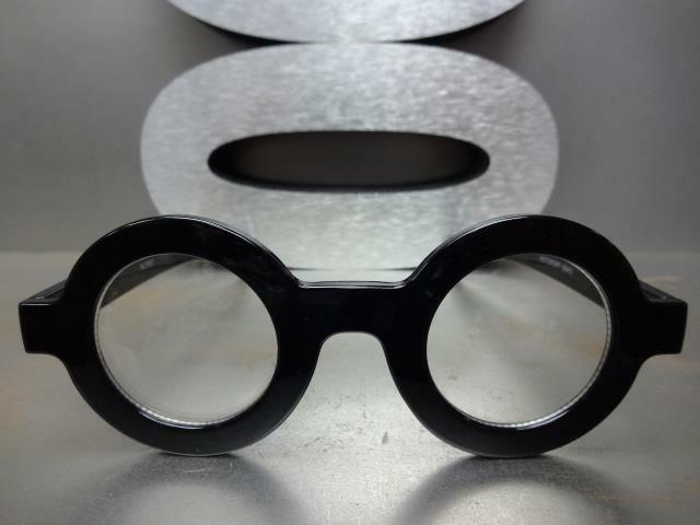 VINTAGE RETRO WALDO Style Round Thick Frame