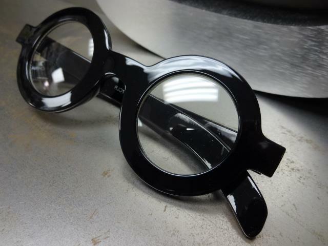 VINTAGE RETRO WALDO Style Clear Lens EYE GLASSES Round Frame
