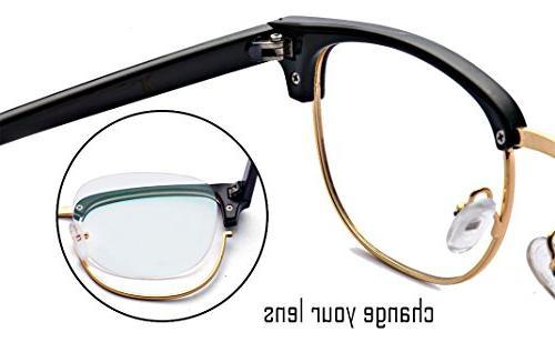 Outray TR90 Frame Horn Optical Frames Glasses Transparent