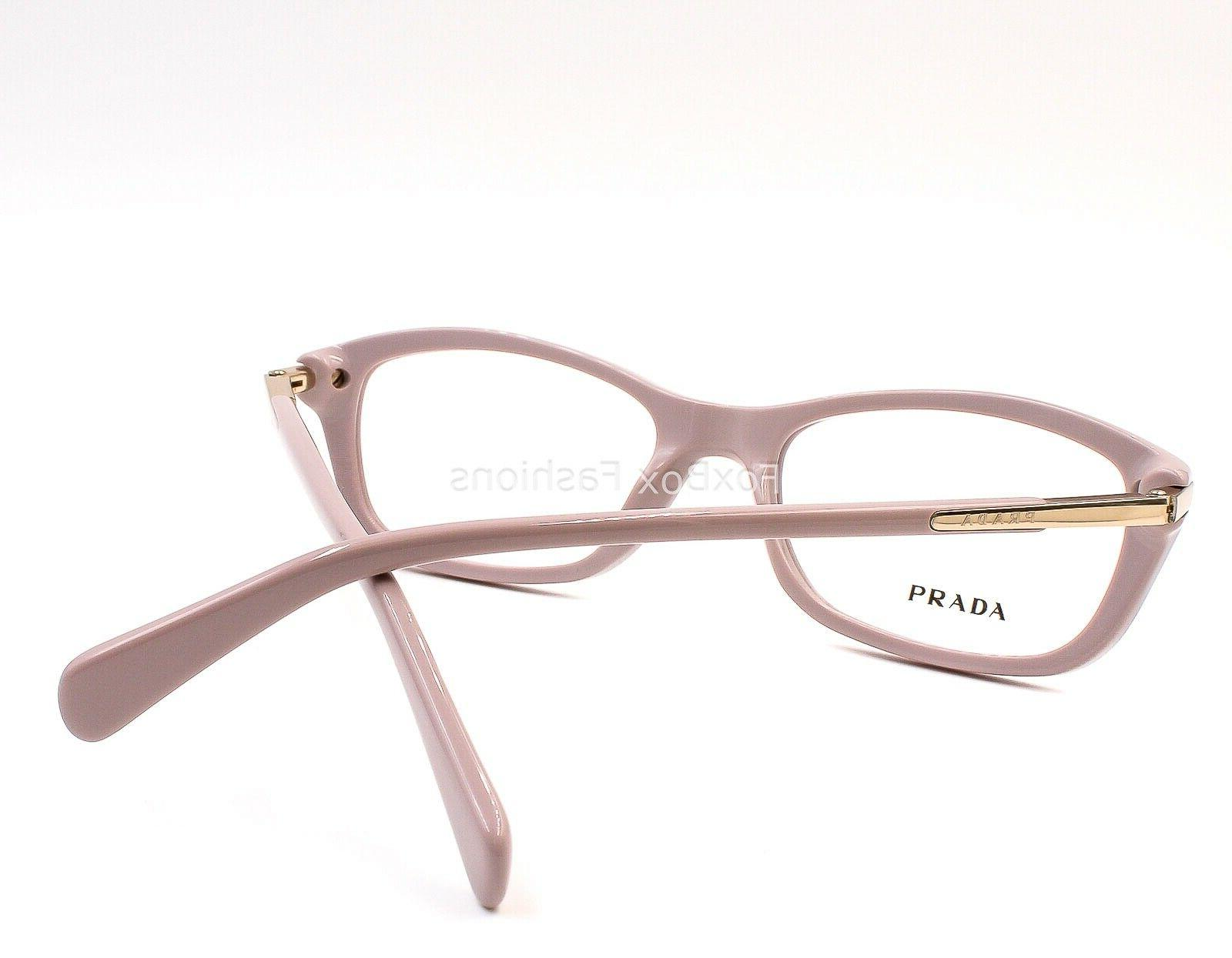 PRADA VPR TKP-1O1 Eyeglasses Optical Frames Glasses Opal ~