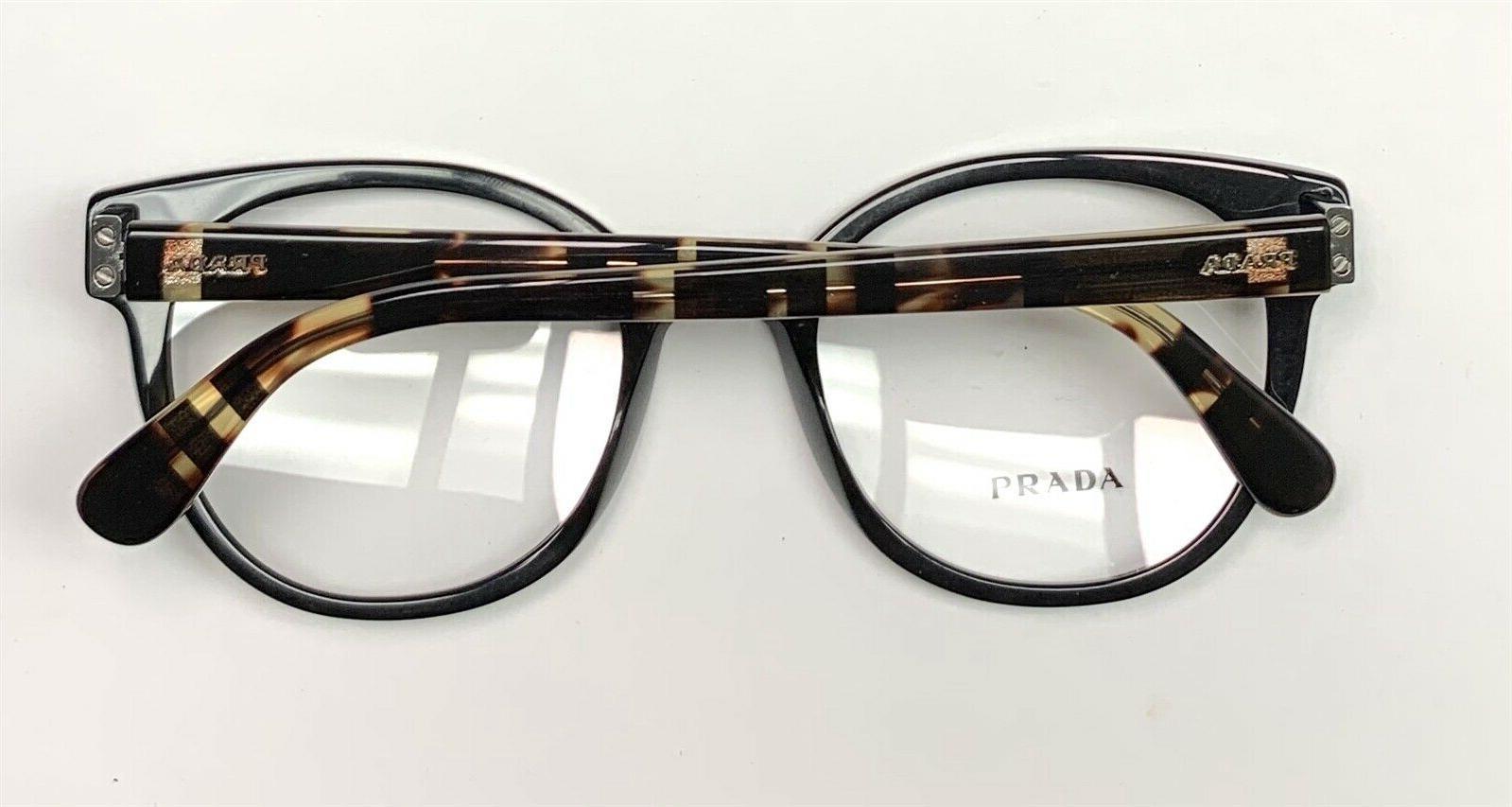 Prada 06T Eyeglasses on Havana Size 50-20-135