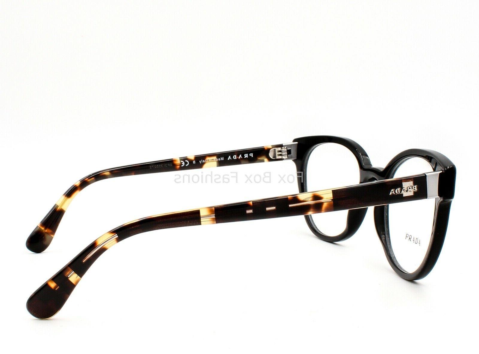 Prada VPR 06T Eyeglasses Frames Glasses Black