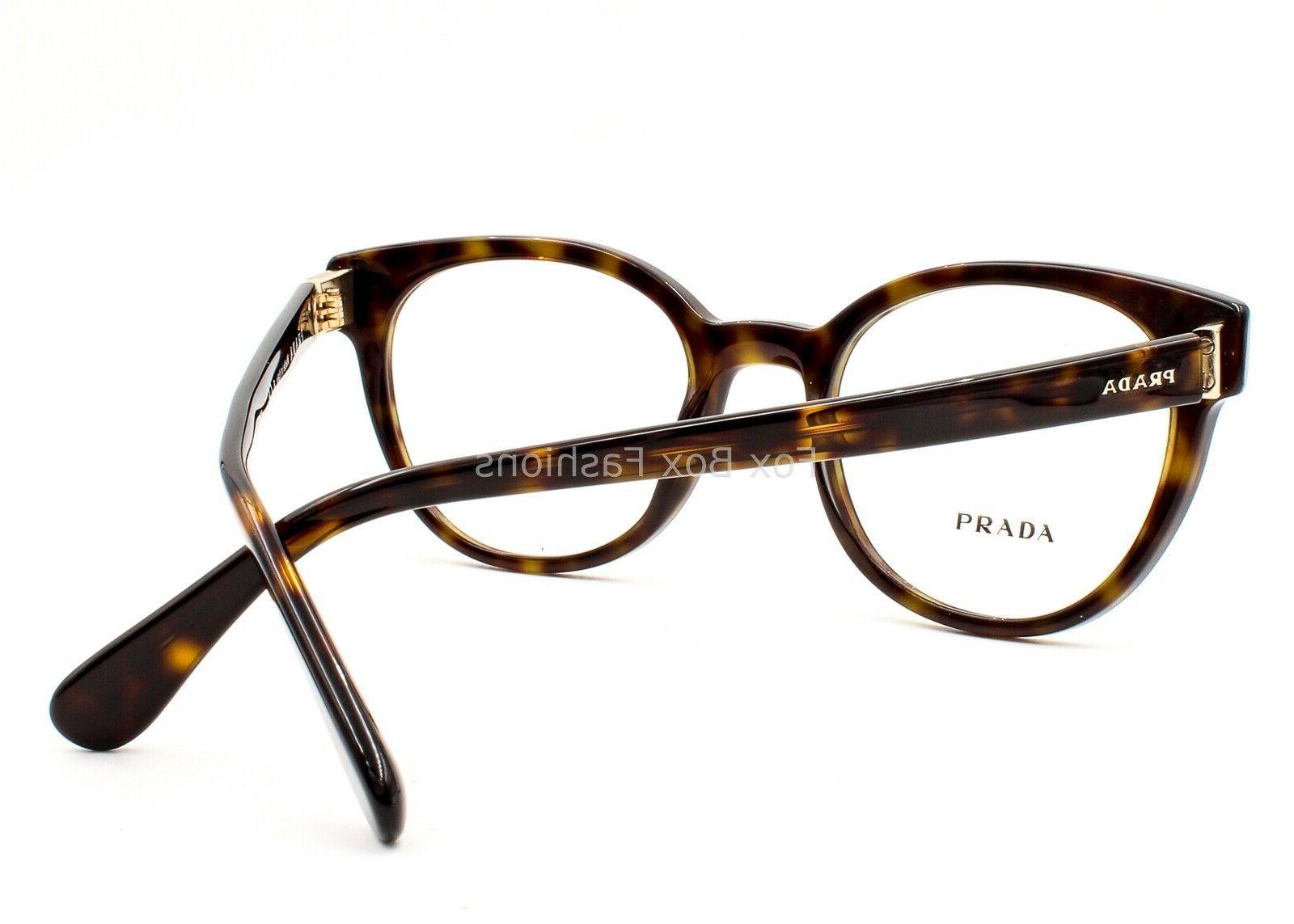 Prada VPR Eyeglasses Glasses Tortoise