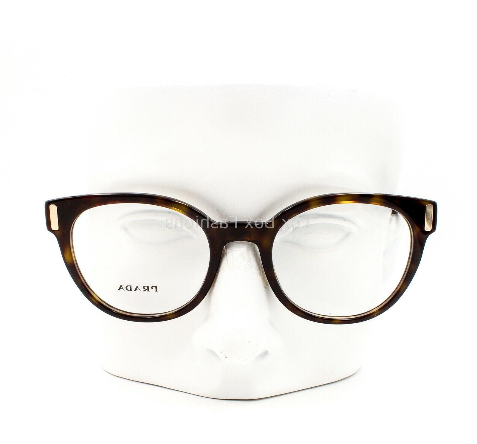 Prada VPR Eyeglasses Frames Glasses Tortoise