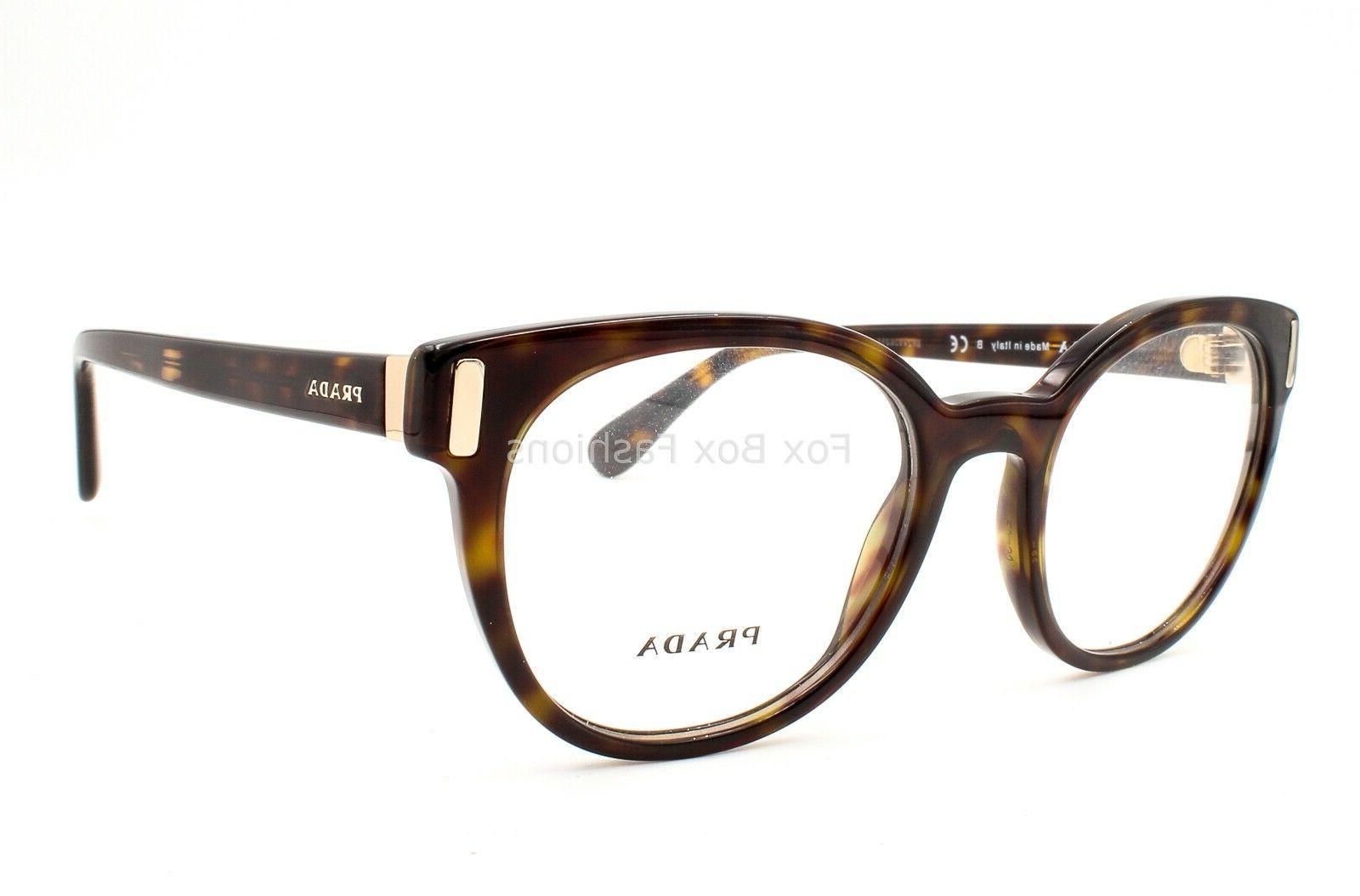 Prada Eyeglasses Frames Tortoise 50-20-135