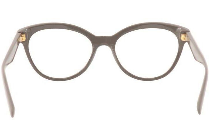 PRADA 11R Eyeglasses Brown on