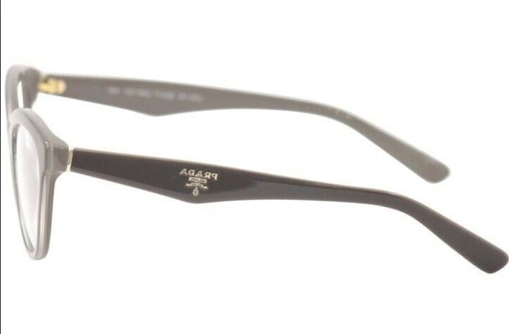 PRADA VPR Eyeglasses Frames Glasses Opal Brown 50-17-140