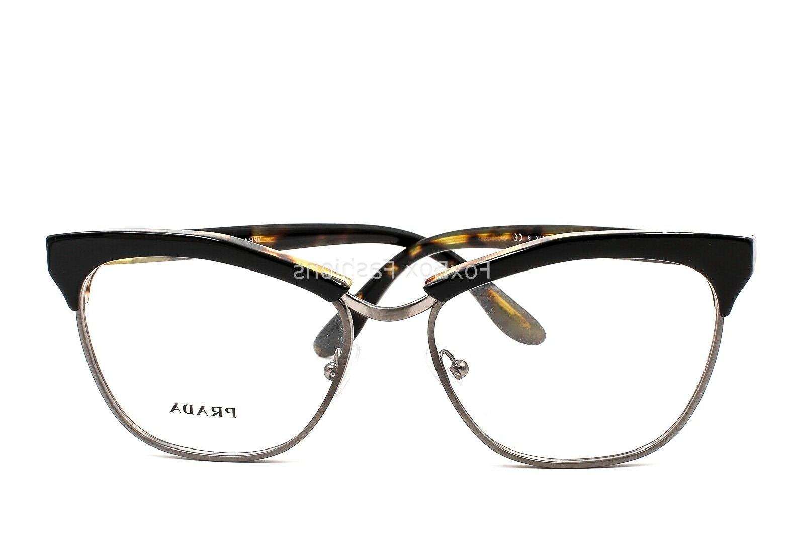PRADA VPR 14S NAI Glasses Black 53mm