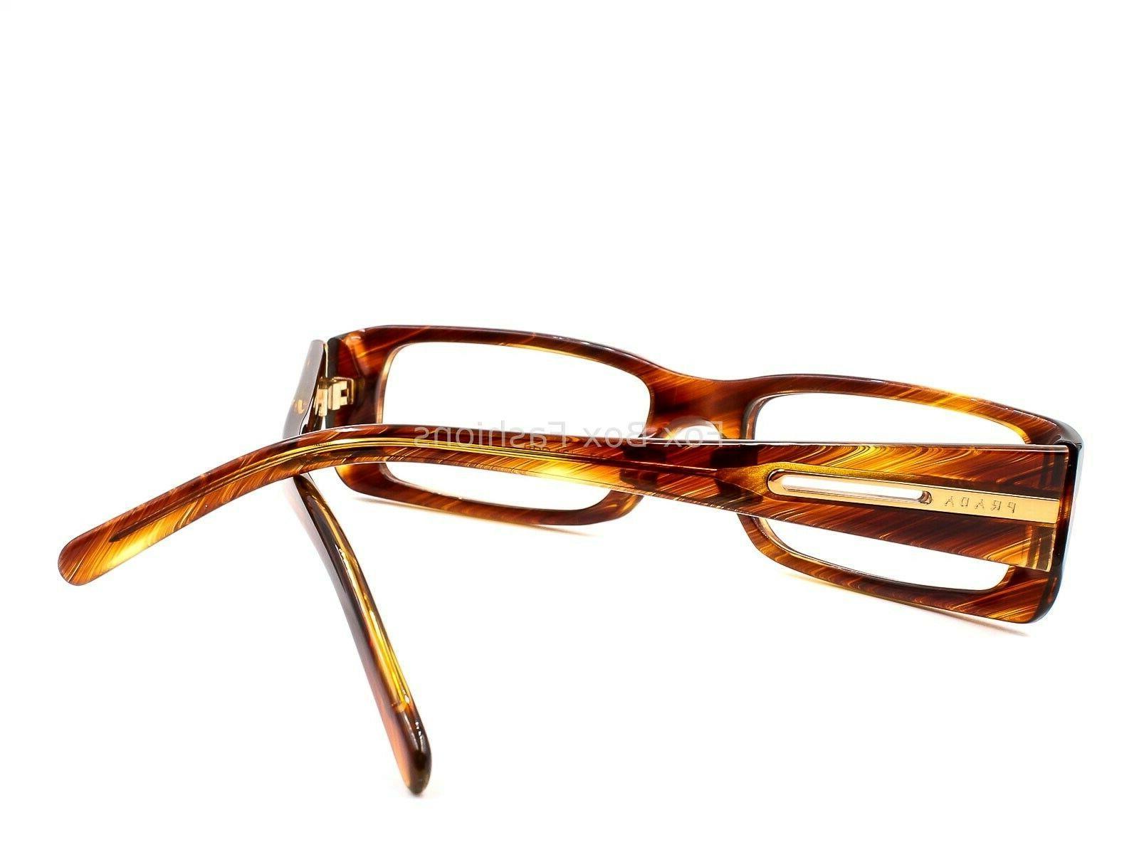 PRADA 16I Eyeglasses Brown