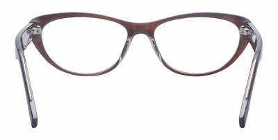 Outray Oval Eyeglasses Eye Fake 2184c2 Brown