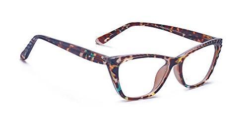 women lightweight cateye prescription glasses frame