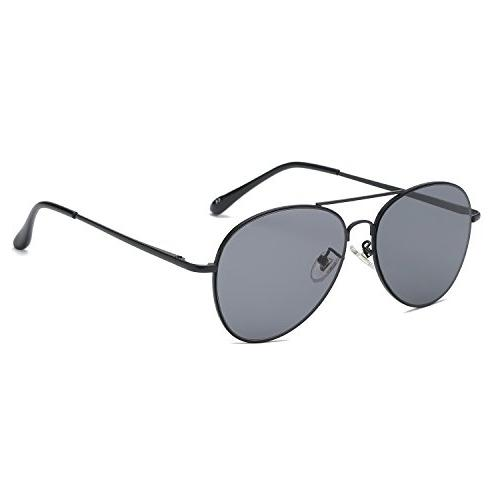 women man aviator mirrored sunglasses with spring