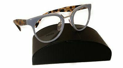 women s blue tortoise glasses with case