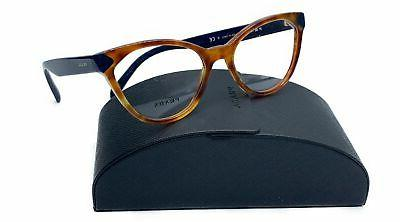 women s brown blue cats eye glasses