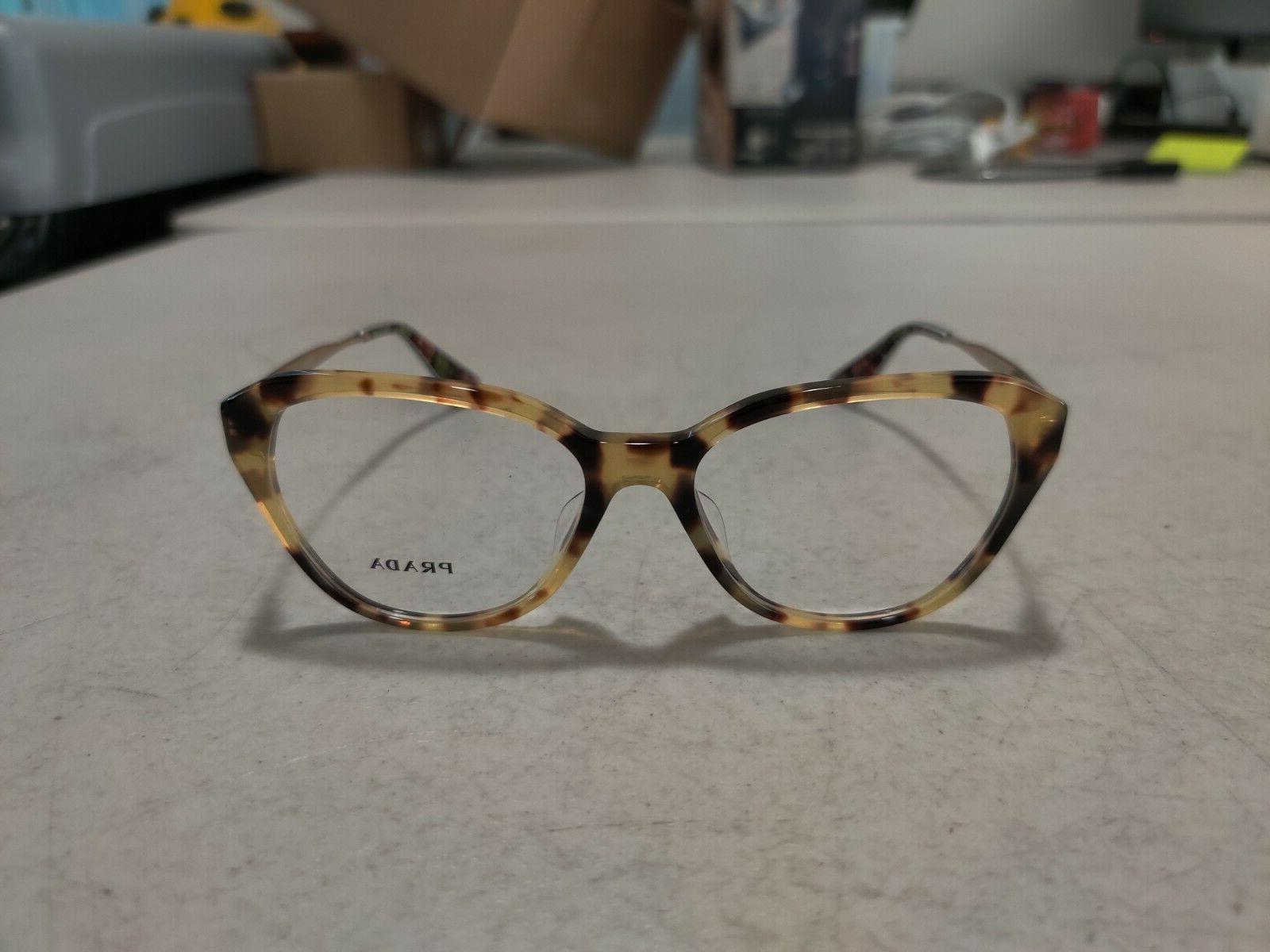 Prada Brown Havana Eye Glasses - VPR