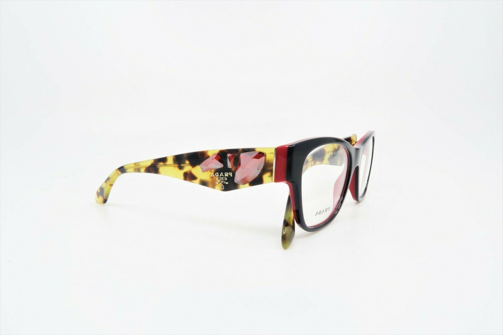 Prada Rectangular Glasses 07R 7I6-1O1 51mm