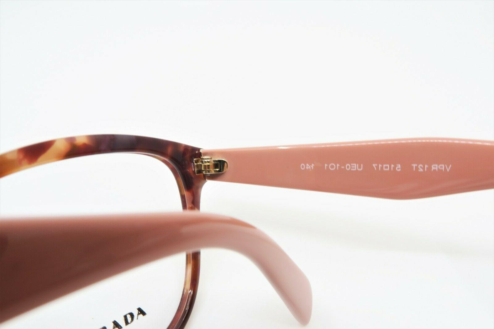 Prada Tortoise Glasses VPR UE0 1O1 51mm