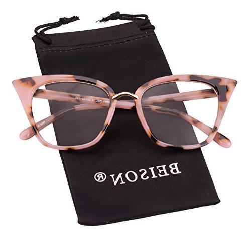 womens cat eye mod fashion eyeglasses frame