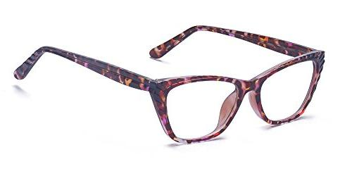 womens lightweight cateye prescription glasses frame
