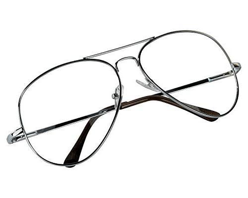 Womens Mens 70's Glasses Man Sunglasses 80's '80s 80 UV400 Silver