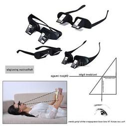 Lazy Reader Prism Eye Glasses Lying Down Bed Horizontal Read