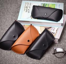 Leather Sunglasses Eyeglasses Hard case Pouch Fits for MK Ra