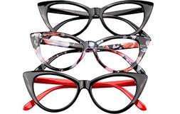 Soolala Ladies 61Mm Lens Fashion Designer Cat Eye Reading Gl