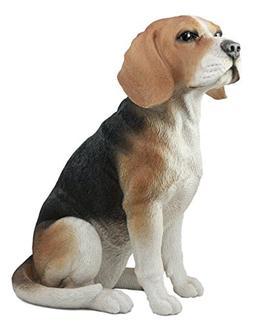 Ebros Large Lifelike Realistic Classic Tri Colored Beagle Do