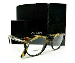 Prada Light Brown & Grey Havana Cat Eye Rx. Glasses, New w/B