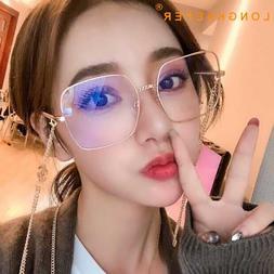 LongKeeper Fashion <font><b>Glasses</b></font> Frame Metal C