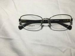 Coach Luxury Eye Glasses Gold and Chocolate Clean!!! New