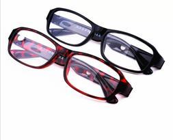 Magnet Reading Glasses +4.5+5.0+5.5+6.0 Lens Black/Red Plast