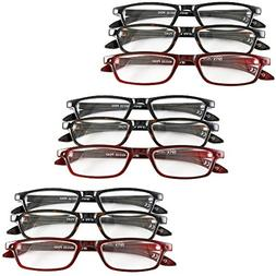 Magnifying Reading Glasses +4.0/4.5/5.0 Unisex Half Eye Sty