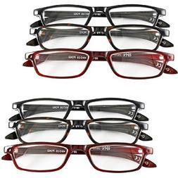 Magnifying Reading Glasses +5.0 - Half Eye Style for Men &