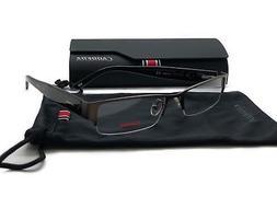 Carrera Matte Brown Semi 7594 0JBQRimless Eyeglasses Metal 7